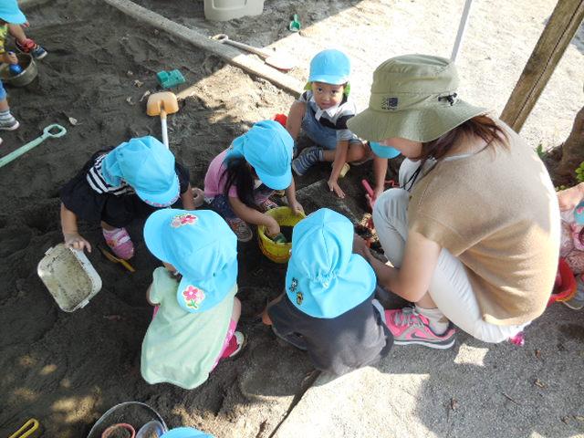 Niños que juegan todo el día mucho tiempo con el maestro de la mamá de la experiencia de personal de guardería