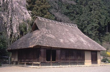 Fotografía de la persona de casa de Korai de la designación rural la propiedad cultural importante de la Hidaka City
